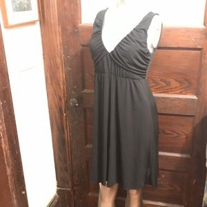 BCBG Paris little black cocktail dress M empire